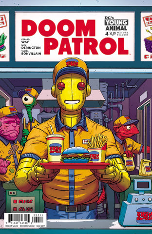 DOOM PATROL #4 (MR) - Packrat Comics