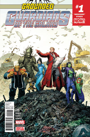 GUARDIANS OF GALAXY #15 NOW