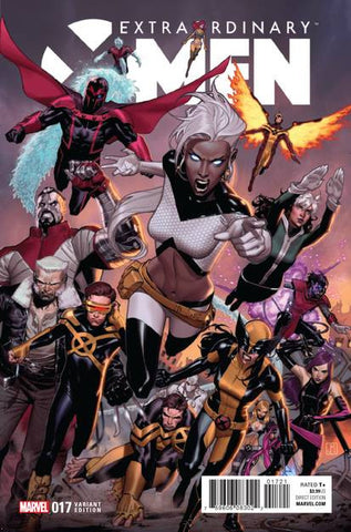 EXTRAORDINARY X-MEN #17 MOLINA VAR IVX
