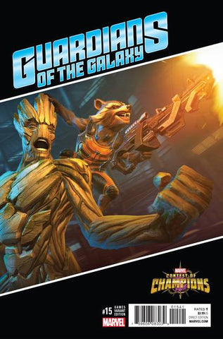GUARDIANS OF GALAXY #15 GAMES VAR NOW
