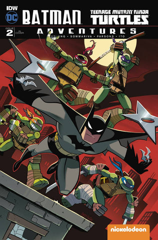 BATMAN TMNT ADVENTURES #2 (OF 6) 10 COPY INCV