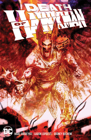 DEATH OF HAWKMAN TP - Packrat Comics