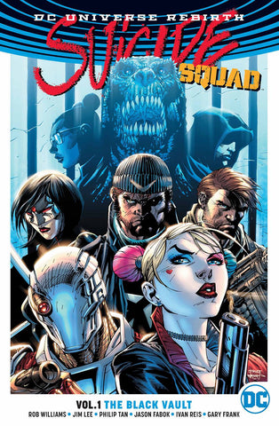 SUICIDE SQUAD TP VOL 01 THE BLACK VAULT (REBIRTH) - Packrat Comics