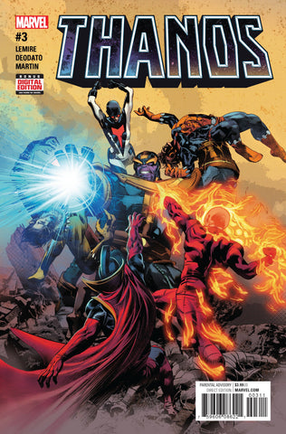 THANOS #3 - Packrat Comics