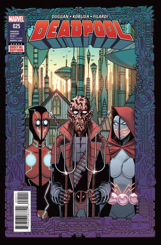 DEADPOOL #25 - Packrat Comics