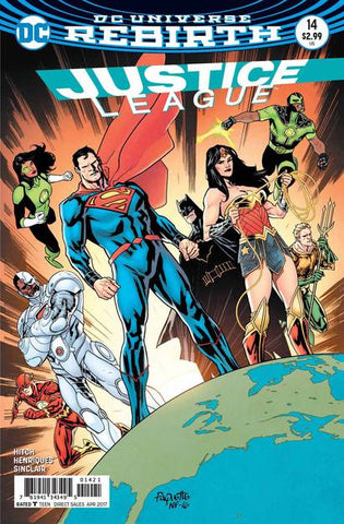 JUSTICE LEAGUE #14 VAR ED - Packrat Comics