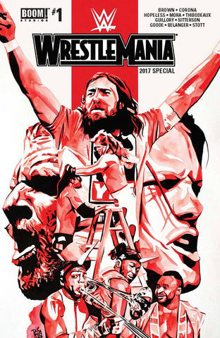 WWE WRESTLEMANIA 2017 SPECIAL #1 MAIN CVR - Packrat Comics