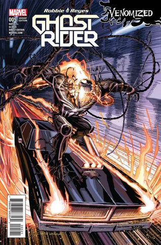 GHOST RIDER #5 WEAVER VENOMIZED VAR