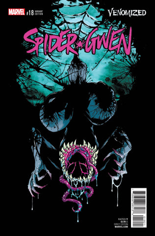 SPIDER-GWEN #18 CAMPBELL VENOMIZED VAR
