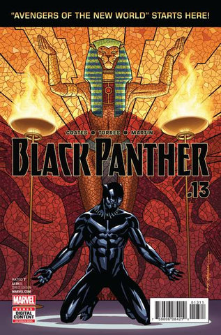 BLACK PANTHER #13 - Packrat Comics