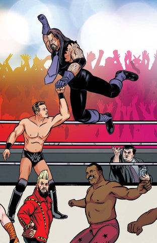 WWE #4 UNLOCK ROYAL RUMBLE CONNECTING VAR - Packrat Comics