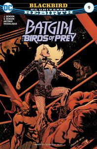 BATGIRL AND THE BIRDS OF PREY #9 - Packrat Comics