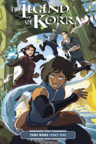 LEGEND OF KORRA TP VOL 01 TURF WARS PT 1