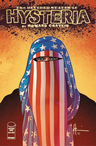 DIVIDED STATES OF HYSTERIA #1 (MR) - Packrat Comics