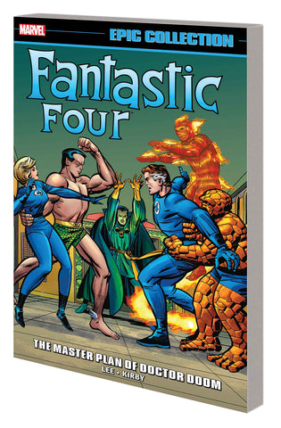 FANTASTIC FOUR EPIC COLL MASTER PLAN OF DOCTOR DOOM TP - Packrat Comics