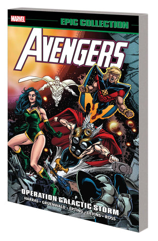 AVENGERS EPIC COLLECTION OPERATION GALACTIC STORM TP - Packrat Comics