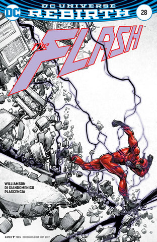 FLASH #28 VAR ED - Packrat Comics