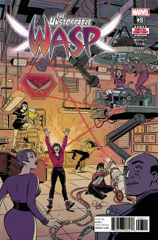 UNSTOPPABLE WASP #8 - Packrat Comics