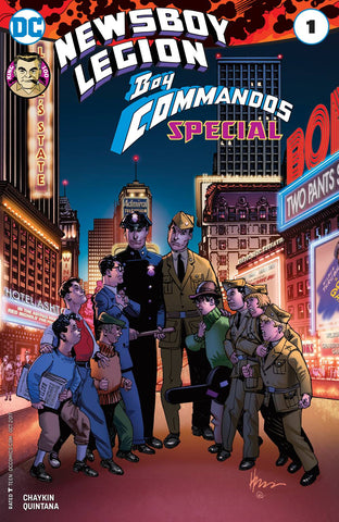 NEWSBOY LEGION & BOY COMMANDOS SPECIAL #1 - Packrat Comics