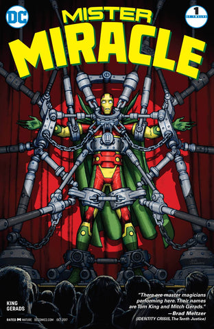 MISTER MIRACLE #1 (OF 12) (MR)