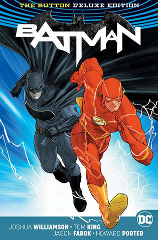 BATMAN FLASH THE BUTTON DELUXE ED HC INTL ED (REBIRTH) - Packrat Comics