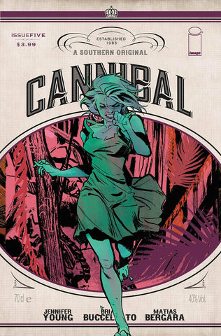 CANNIBAL #5 (MR) - Packrat Comics