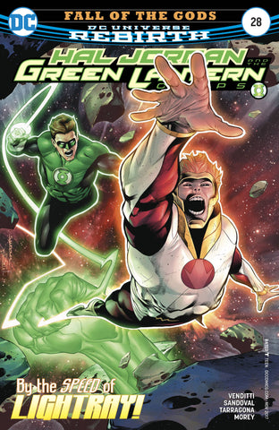 HAL JORDAN AND THE GREEN LANTERN CORPS #28 - Packrat Comics