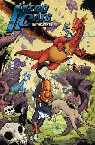 HERO CATS TP VOL 06 NEW REALM - Packrat Comics