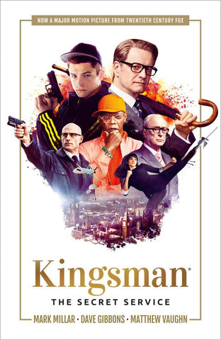 KINGSMAN SECRET SERVICE TP CVR B MOVIE CVR - Packrat Comics