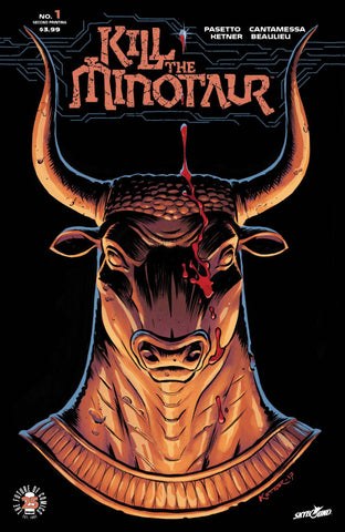 KILL THE MINOTAUR #1 2ND PTG (MR) - Packrat Comics