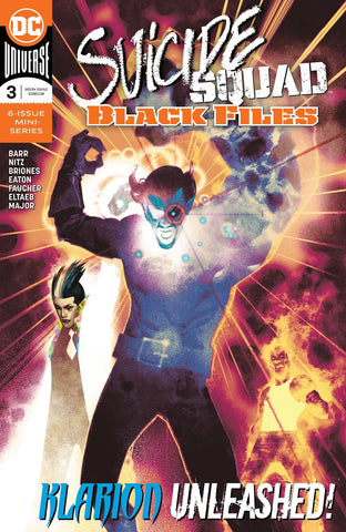 SUICIDE SQUAD BLACK FILES #3 (OF 6)