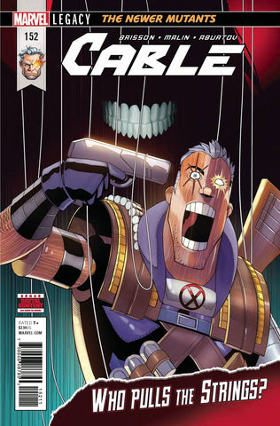 CABLE #152 LEG - Packrat Comics