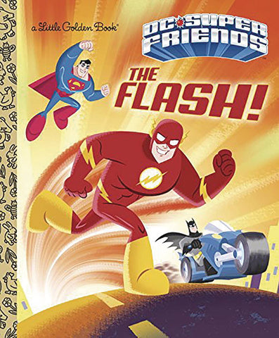 DC SUPER FRIENDS LITTLE GOLDEN BOOK FLASH - Packrat Comics