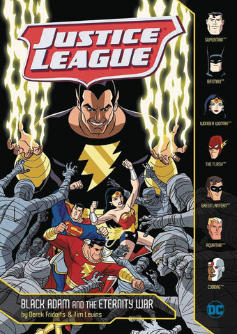 JUSTICE LEAGUE YR TP BLACK ADAM & ETERNITY WAR - Packrat Comics