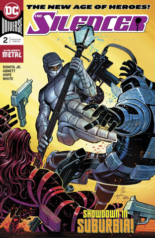 SILENCER #2 - Packrat Comics