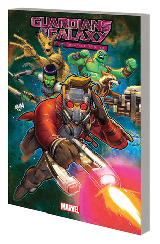 GUARDIANS OF GALAXY TELLTALE GAMES TP - Packrat Comics