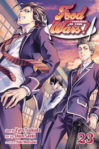 FOOD WARS SHOKUGEKI NO SOMA GN VOL 23 - Packrat Comics