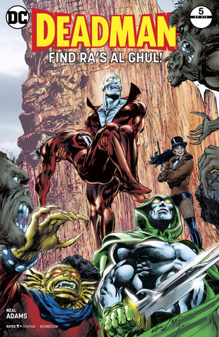 DEADMAN #5 (OF 6) - Packrat Comics