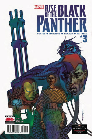 RISE OF BLACK PANTHER #3 (OF 6) LEG - Packrat Comics