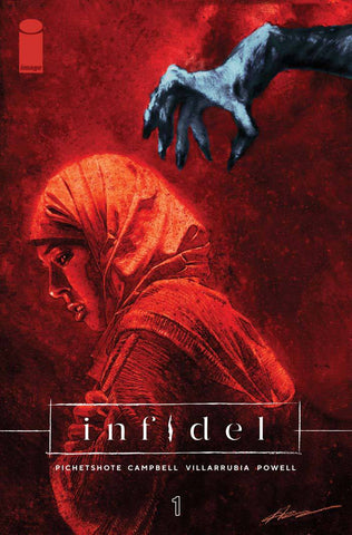 INFIDEL #1 (OF 5) CVR A CAMPBELL & VILLARRUBIA (MR) - Packrat Comics