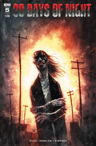 30 DAYS OF NIGHT #5 (OF 6) CVR A TEMPLESMITH