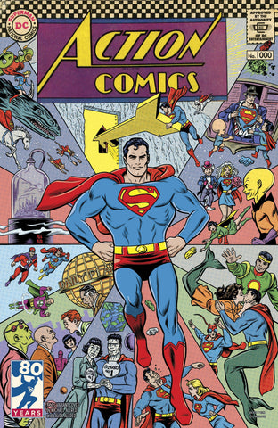 ACTION COMICS #1000 1960S VAR ED - Packrat Comics