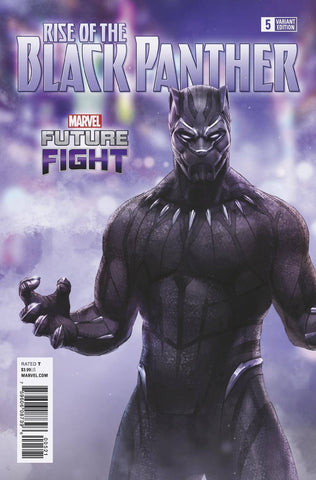 RISE OF BLACK PANTHER #5 (OF 6) GAME VAR LEG