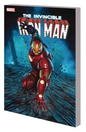 INVINCIBLE IRON MAN TP SEARCH FOR TONY STARK - Packrat Comics