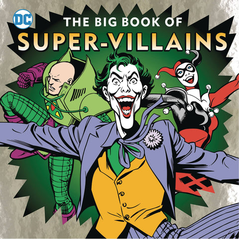 DC BIG BOOK OF SUPER VILLAINS HC - Packrat Comics