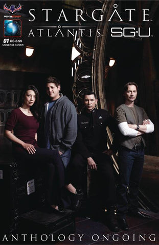 STARGATE ATLANTIS UNIVERSE ANTHOLOGY ONGOING #1 SGA PHOTO CV - Packrat Comics