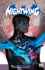 NIGHTWING TP VOL 06 THE UNTOUCHABLE - Packrat Comics