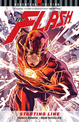 FLASH STARTING LINE ESSENTIAL EDITION TP - Packrat Comics