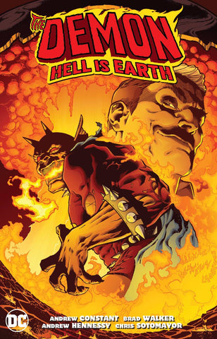 DEMON HELL IS EARTH TP - Packrat Comics