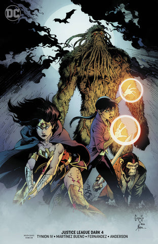 JUSTICE LEAGUE DARK #4 VAR ED (WITCHING HOUR)